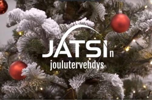Katso Jatsin joulutervehdys videolta