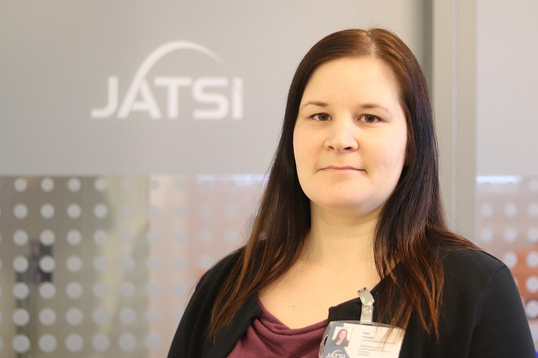 Jatsin tuotannonohjausasiantuntija Kati Vesala