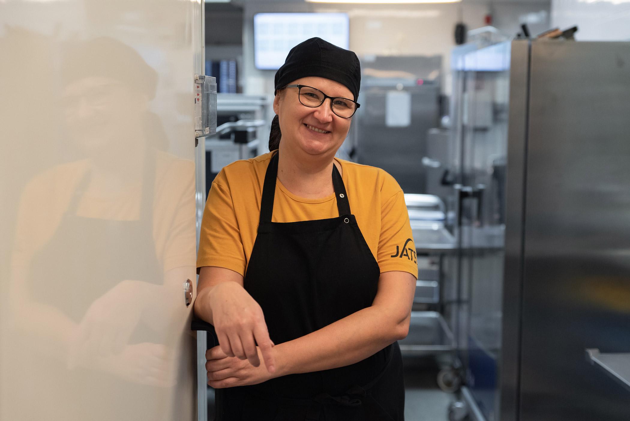 Jatsin ruokapalveluvastaava Virpi Rikberg