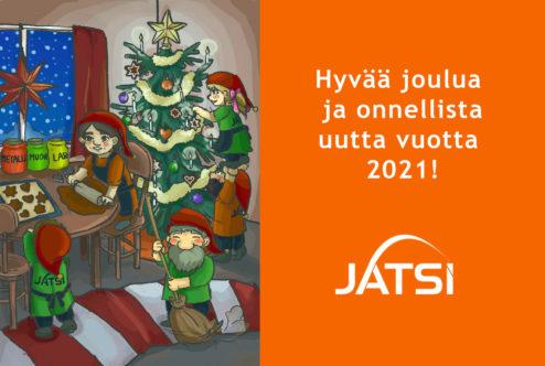 Hyvää ja rauhaisaa joulua!
